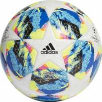 Minge fotbal Adidas Finale TT J290 alb albastru galben DY2549 teamwear pentru copii adidas teamwear