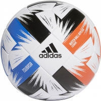Minge fotbal Adidas Tsubasa League alb-negru-albastru-rosu FR8368