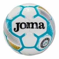 Minge fotbal Joma Egeo alb-fluor turcoaz marimea 5