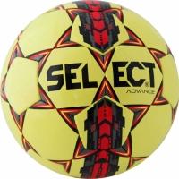 Minge fotbal Select Advance 5 galben rosu gri 0506 copii