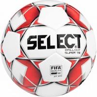 Minge fotbal Select Brillant Super TB alb rosu negru