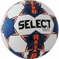 Minge fotbal Select Contra Special alb-albastru-portocaliu