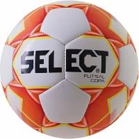 Minge fotbal Select Futsal Copa 2018 Hall 4 alb-portocaliu 14318