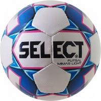 Minge fotbal Select Futsal Mimas Light 18 alb And albastru 14790