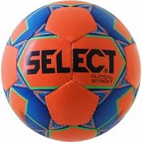 Minge fotbal Select Futsal Street 2018 portocaliu-albastru 13989