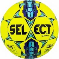 Minge fotbal Select Samba IMS 5 galben-mov-albastru 15104