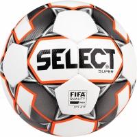 Minge fotbal Select Super 5 FIFA 2019 alb gri portocaliu 15005