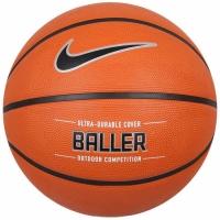 Mingi de Baschet  Baller Nike Baller 8P portocaliu NKI3285507