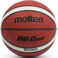 Mingi de Baschet Molten Ball maro And alb B3G2000