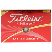 Mingi de Golf Titleist DT TruSoft 12 .