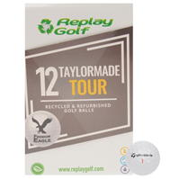 Mingi de Golf Replay Golf TaylorMade Tour 12 .