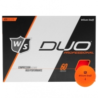 Mingi de Golf Wilson Staff Duo Pro 12pk