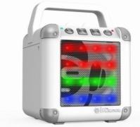 Miniboxa Portabila Bluetooth alb Cube   Idance