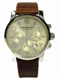 Montblanc Mod Timewalker Chrono Automatic Swiss Made 43 Mm