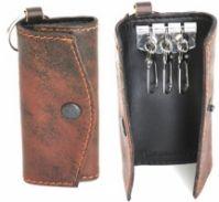 Morellato Mod Portachiavi In Pelle din piele Keychain - Vintage maro