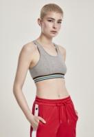 Multicolor Taped Bra pentru Femei gri Urban Classics