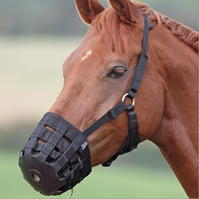 Shires nailon Grass Muzzle