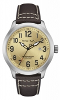 Nautica Watches Mod Ncc 01 Date - City - Casual Leisure Nai10006g - Br Slv Case