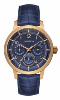 Nautica Watches Mod Nct 15 Multi Ii - City - Urban Chic Nad15523g - Br Rose Gold Case