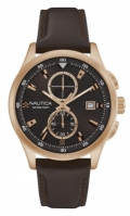 Nautica Watches Mod Nct 19 Flags - City - Urban Chic Nad19557g - Br Rose Gold Case