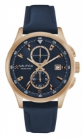 Nautica Watches Mod Nct 19 Flags - City - Urban Chic Nad19558g - Br Rose Gold Case