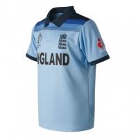 New Balance Anglia Cricket ODI 2019 Cupa Mondiala Winners Shirt pentru copii