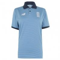 Tricouri Polo New Balance Anglia Cricket Shirt pentru Barbati