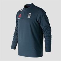 Bluza de trening New Balance Anglia Cricket Quarter cu fermoar pentru Barbati