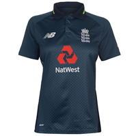 New Balance England Cricket ODI Shirt 2018 2019 pentru Femei