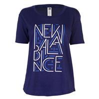 Tricou New Balance Balance Heather Tech pentru Femei