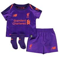 New Balance Liverpool Away Kit 2018 2019 pentru Bebelusi