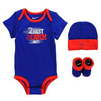 Nike 2 Fast 2 Catch 3 Piece Set Unisex Babies