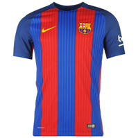 Nike Barcelona Home Authentic Shirt 2016 2017