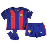 Nike Barcelona Home Kit 2016 2017 pentru Bebelusi