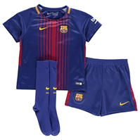 Set Nike Barcelona Home 2017 2018