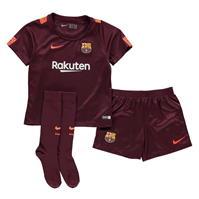 Nike Barcelona Third Mini Kit 2017 2018 baietei