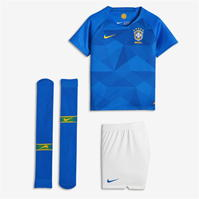 Nike Brazil Away Mini Kit 2018
