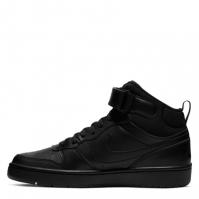 Nike Court Borough Mid 2 Big Shoe pentru Copii negru