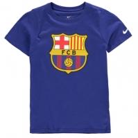 Tricou Nike FCB Crest pentru baietei