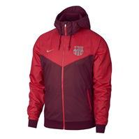 Jacheta Geaca pentru vant Nike FC Barcelona Woven pentru Barbati