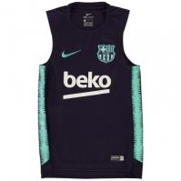 Tricou fara Maneci Nike FC Barcelona pentru baietei