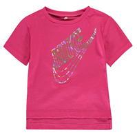 Tricou cu imprimeu Nike Holographic pentru fete pentru Bebelusi