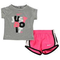 Tricou Nike JDI and Short Set pentru fete pentru Bebelusi
