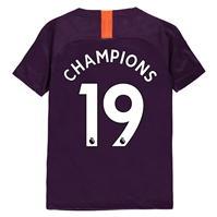 Nike Manchester City Champions Shirt 2019 pentru copii