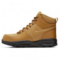 Ghete Nike Manoa LTR Big pentru Copii galben negru