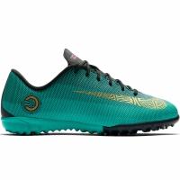 Ghete fotbal Nike Mercurial Vapor X 12 Academy GS CR7 gazon sintetic AJ3100 390 copii