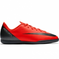 Adidasi fotbal Nike Mercurial Vapor X 12 Club GS CR7 IC AJ3105 600 copii