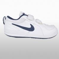 Pantofi sport albi piele naturala cu arici Nike Pico 4 (psv) Unisex