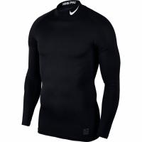 Bluza compresie tip helanca cu maneca lunga Nike Pro Cool negru 838079 010 barbati