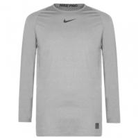Nike Pro cu Maneca Lunga compresie Top pentru Barbati